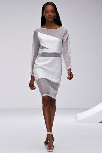 Topshop Unique London Fashion Week fashion show catwalk report Spring Summer 2013