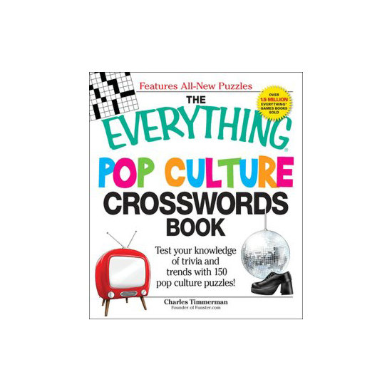The Everything Pop Culture Crosswords Book ($10)