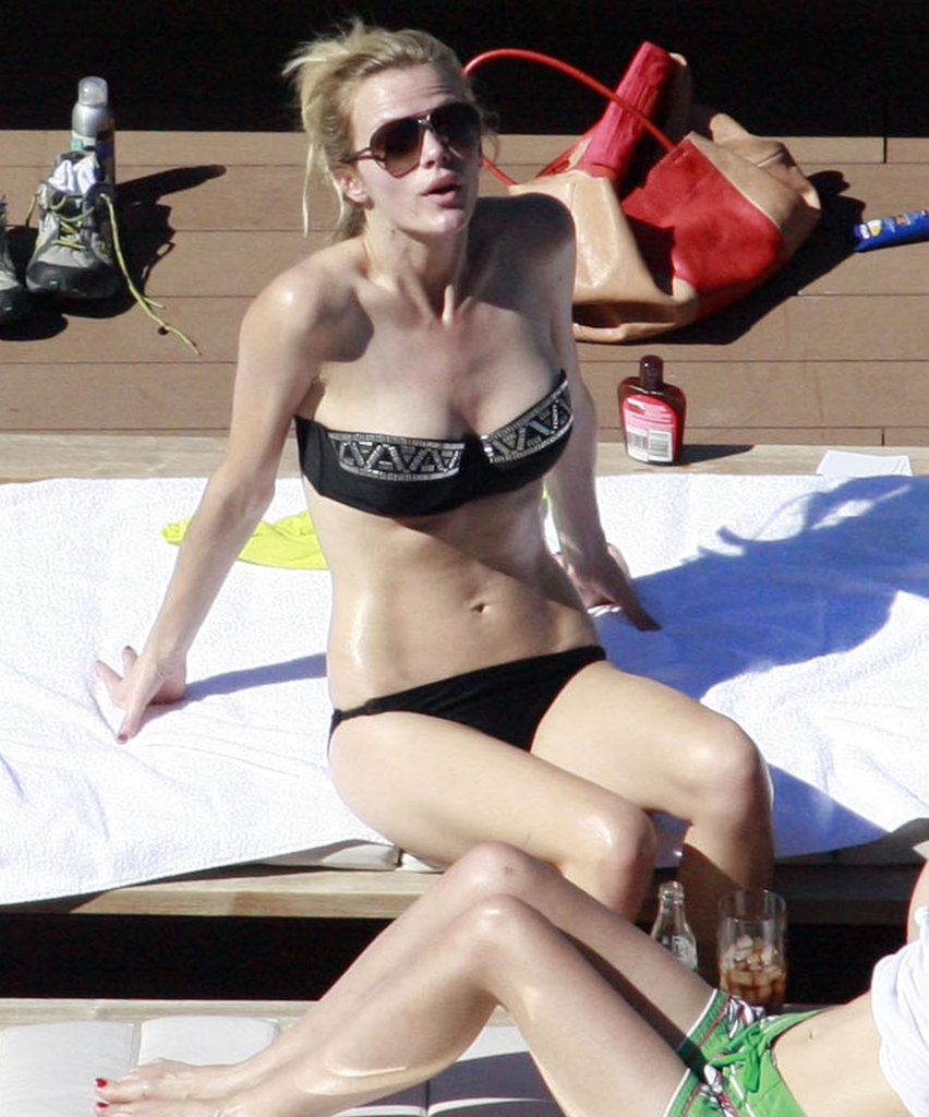 Brooklyn Decker relaxed poolside while promoting Battleship in Sydney this April.