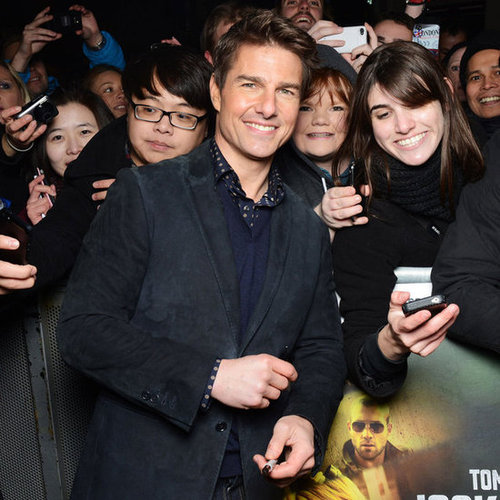 Tom Cruise at the London Premiere of Jack Reacher