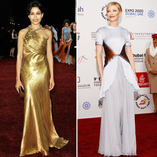 Best dressed in Dubai? Freida Pinto or Cate Blanchett?