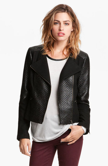 Quilted leather jackets are beyond cool. If you also admire the look, score this Trouve quilted moto jacket ($148) to wear with everything from dresses to jeans.