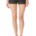 These Free People studded faux leather shorts ($128) would add instant rocker edge to your wardrobe. Sport them over black opaque tights for warmth now, then ditch the tights when Spring and Summer come along.