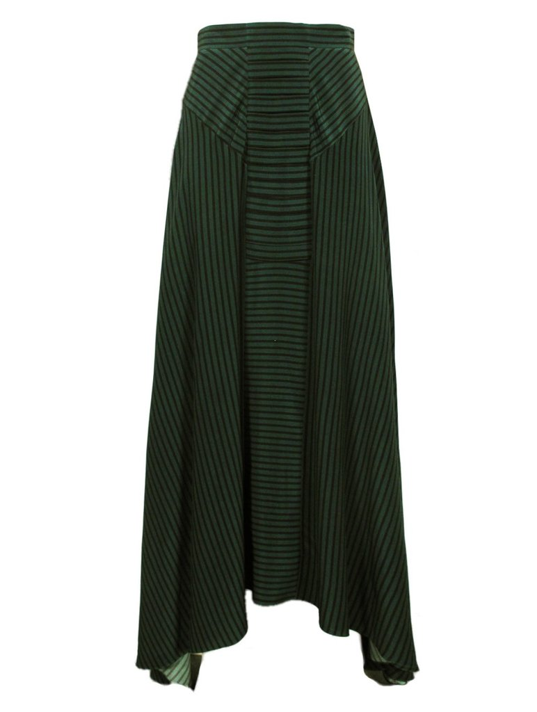 When we first spotted this Vena Cava Stanwick long skirt ($297, originally $495), we couldn't help but think that this is the kind of staple that can be worn no matter the season: layered up now, and with a lacy camisole and flat sandals in warmer weather.