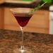 Pomegranate Rosemary Martini