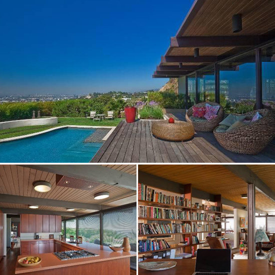 Scarlett Johansson and Ryan Reynolds listed their midcentury-modern home after doing extensive renovations to make it more eco-friendly.  Source: Trulia