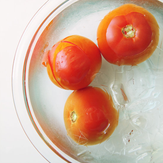 Peeling Tomatoes Easily