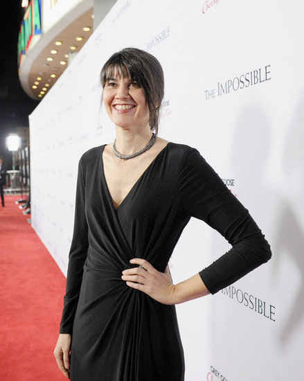 Maria Belon joined the cast at the LA premiere.