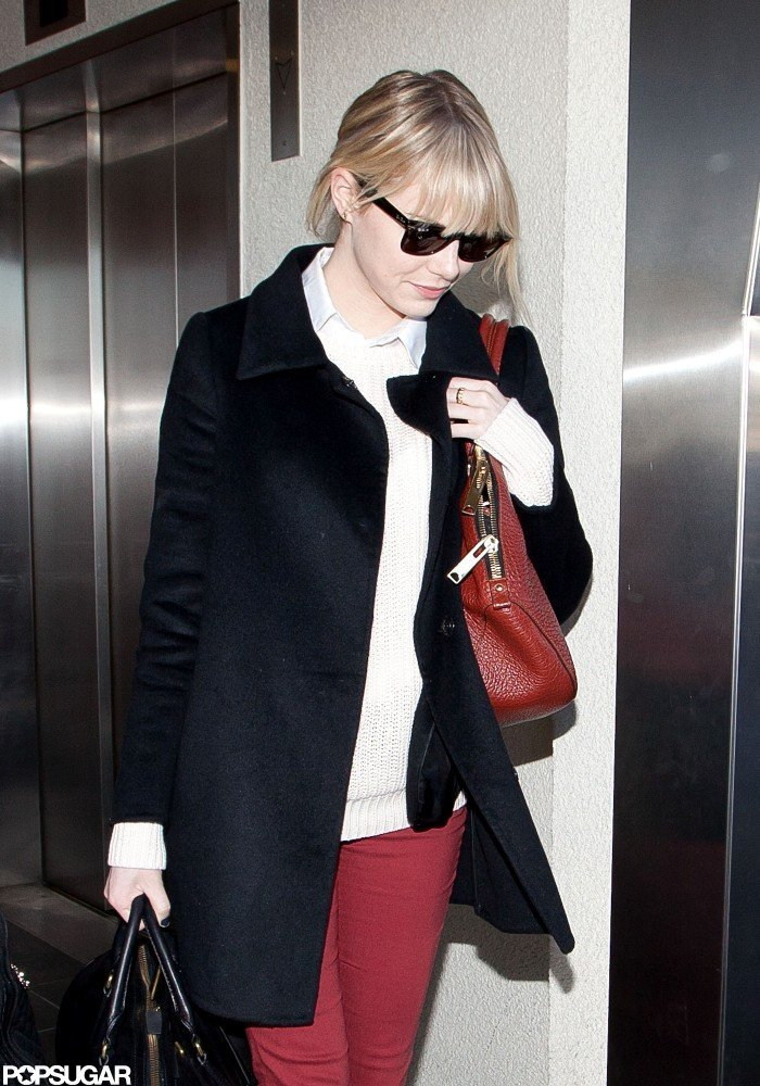 Emma Stone sported a pair of sunglasses in LA.
