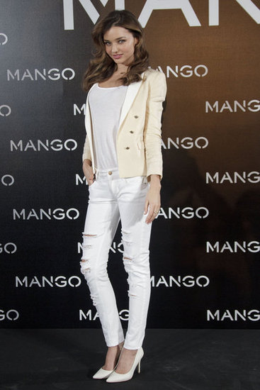First Look! Miranda Kerr Stars in the Mango Spring '13 Campaign