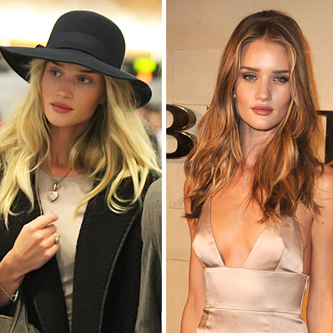 Rosie Huntington Whiteley Hair