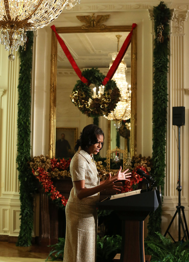 White House Decorations Debut