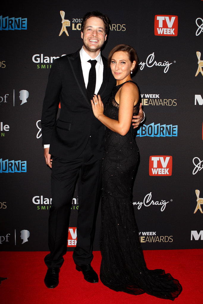 Zoë Foster debuted her engagement ring from Hamish at the 2012 Logie Awards in Melbourne in April.