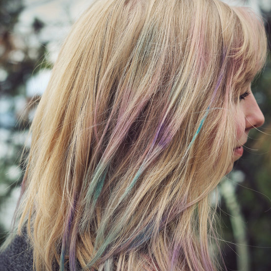 Leave: Hair Chalk
