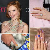 Who had the best celebrity nail art of 2012?