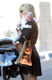 Reese Witherspoon became a mother of three when she gave birth to her adorable son Tennessee Toth with husband Jim Toth in September. — Meghan Rooney, editorial assistant