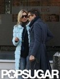 Kate Moss and Jamie Hince were out and about together in London.