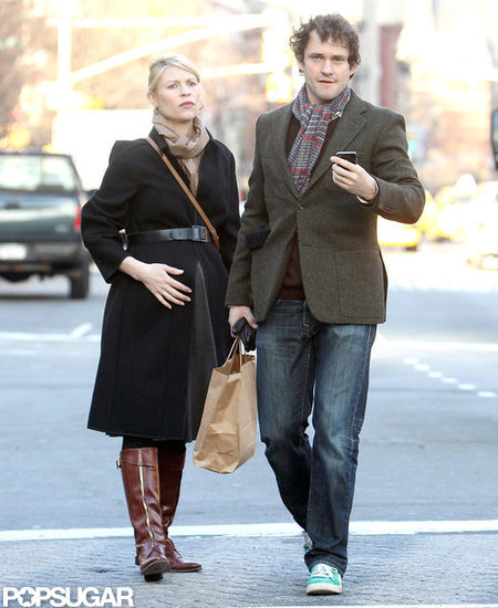 Pregnant Claire Danes Steps Out With Hugh Dancy — and Scores a SAG Nod!