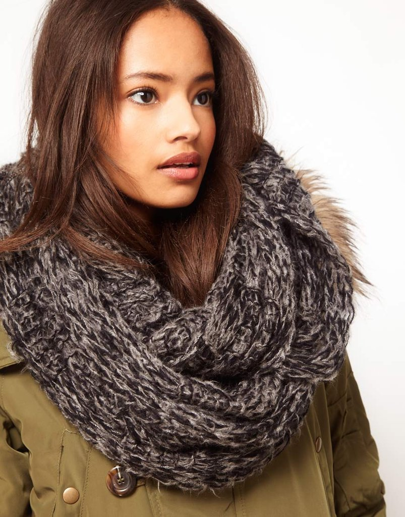 How cozy does this ASOS Textured Knit Snood ($21) look? It's also a total steal.