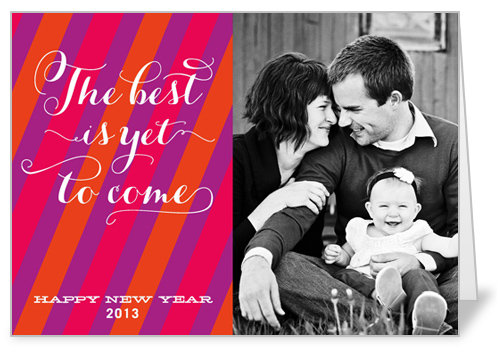 Shutterfly Modern Stripes Card