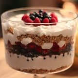 Yogurt Granola Trifle Recipe