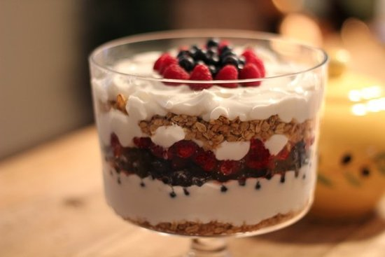 Yogurt Granola Trifle