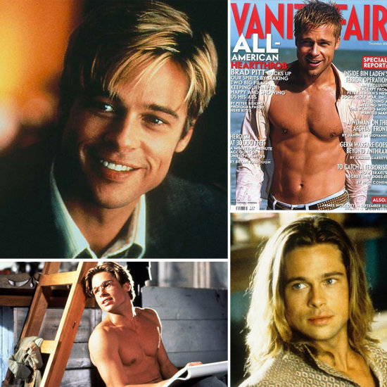 Hot Brad Time Machine: Happy Birthday Mr. Pitt!