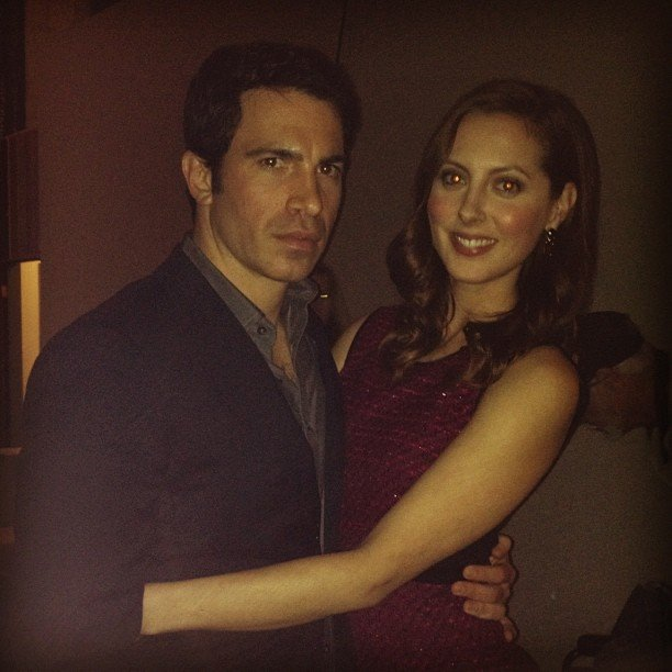 Chris Messina got cozy with Eva Amurri on the set of The Mindy Project. Source: Instagram user mindykaling