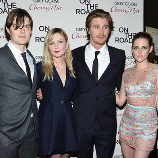 Kristen Stewart, Garrett Hedlund, Kirsten Dunst On The Road