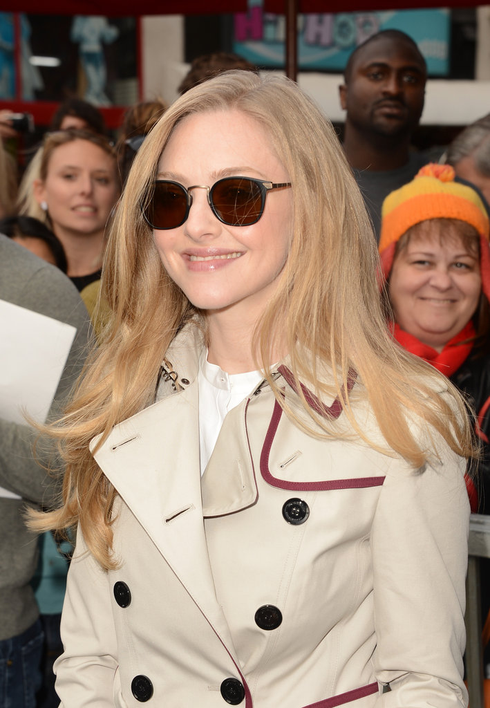 Amanda Seyfried supported her co-star.