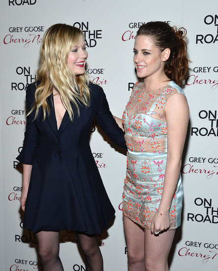 Kristen Stewart Premieres On the Road With Garrett, Kirsten, and Sam