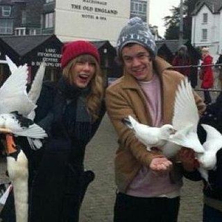 Taylor Swift and Harry Styles in Northern England | Pictures