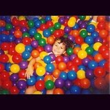 Victoria Justice shared an old photo of herself playing in a ball pit. Source: Instagram user victoriajustice