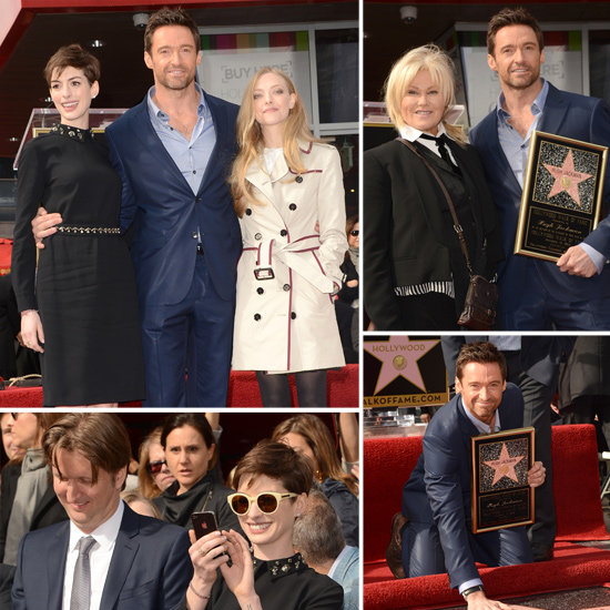 Hugh Has Deborra-lee, Anne and Amanda Close to Accept His Hollywood Star