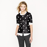 Wear this J.Crew Sequin Polka-Dot Top ($98, originally $128) to get festive this season, then again and again as a great going-out.