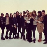 Skyler Berman helped mama Rachel Zoe out with her Fall 2013 fashion shoot. Source: Instagram user rachelzoe