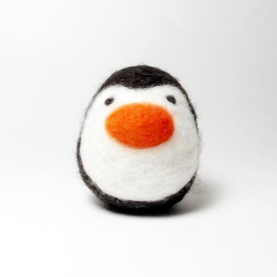 Needle and Felt Penguin ($24)