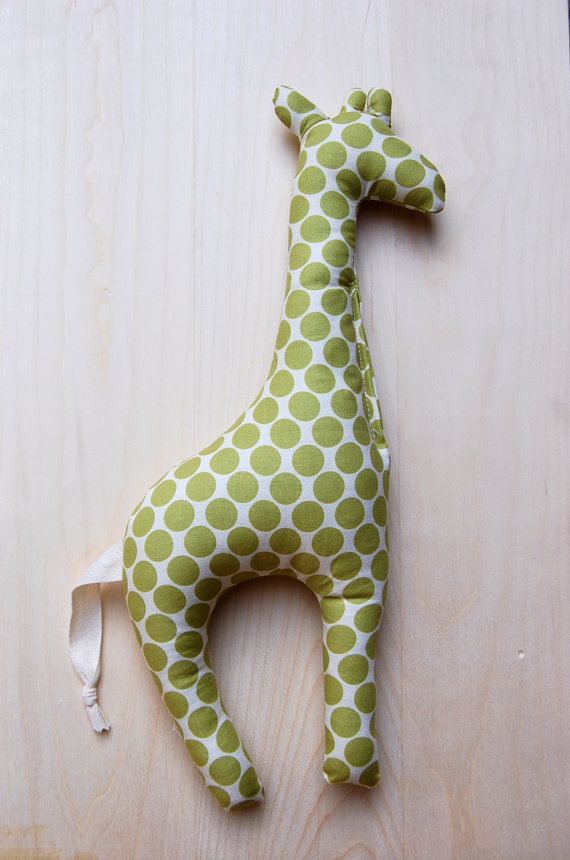 Baby Darling Stuffed Giraffe ($16)