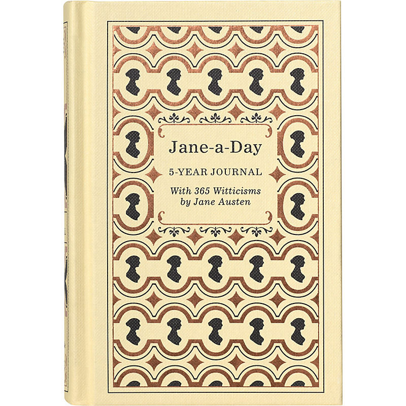 A Jane fan will love to jot down her daily thoughts alongside memorable quotes from the author in this Jane-a-Day 5-Year Journal ($17).