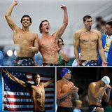 America, the beautiful — and shirtless: there were lots of sexy Olympic swimmers to root for.