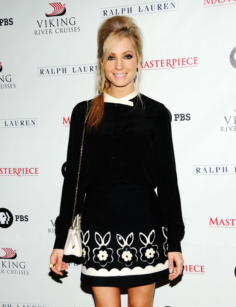 Joanne Froggatt channeled the '60s instead of the '20s.