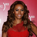 We love this December 2012 look on Mel B — the curls are so pretty and highlight her perfectly-shaped face.