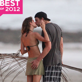 Best Celebrity Kissing Pictures 2012