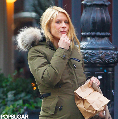 Claire Danes was spotted out in NYC.