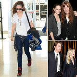 Kristen Stewart Parties With Patti Smith As She Finishes NYC Trip