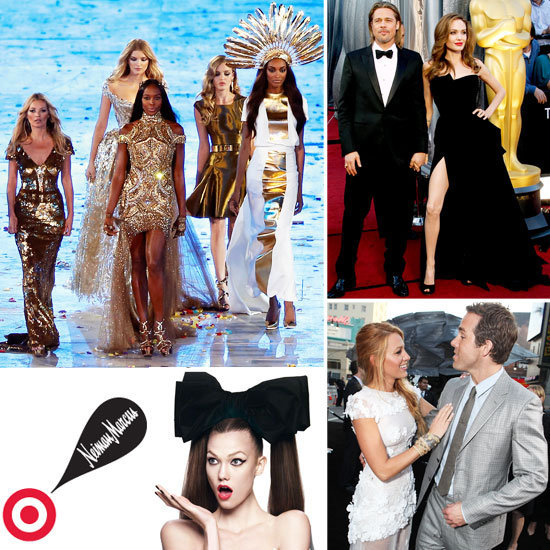 We've rounded up 2012's best fashion headlines, from a chic Olympic finale to Angelina Jolie's right leg.