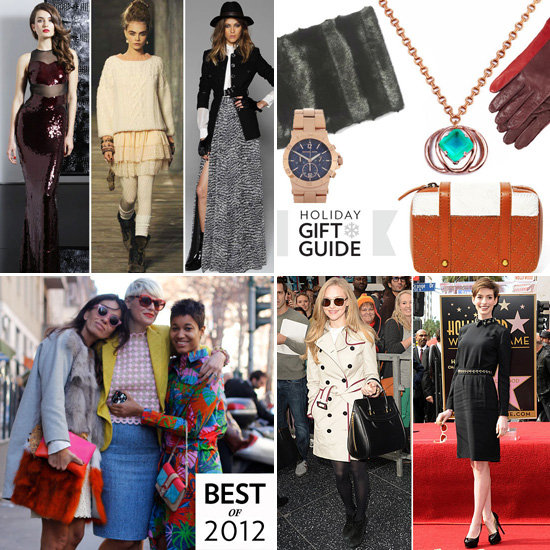 Fab Recap: The Best Gifts, Dresses, and Street Style of 2012