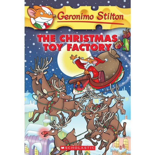 Geronimo Stilton #27: The Christmas Toy Factory ($6) follows the funny adventure of a famous mouse during the holidays.