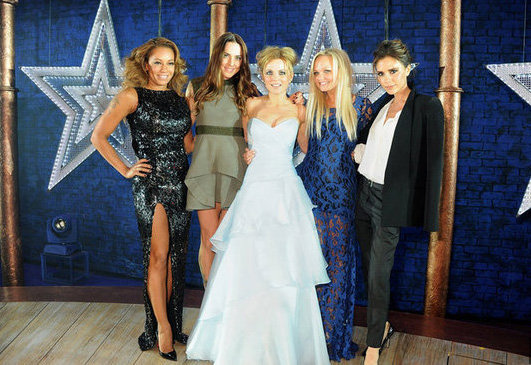 The Spice Girls were temporarily reunited on December 11 when they attended the premiere of the Viva Forever! musical in London.