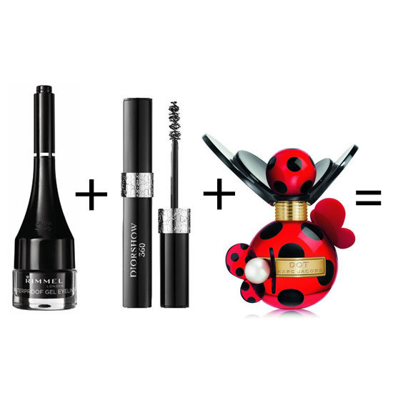 Georgia's beauty look is understated but super sexy. It's all in that strong winged eyeliner and these days, the brushes available practically do it for you! Add a sophisticated floral fragrance and go. Rimmel London Gel Pot Eyeliner Waterproof ($10.36), Dior Diorshow 360 Mascara ($65), Marc Jacobs Dot 50ml EDP ($120)